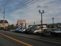 県道12号鳴門池田線沿い、脇町ICより車で10分。