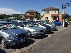 人気のコンパクトカーやバンなどの商用車もございます!