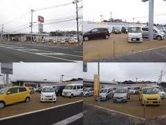 中古車展示場はさまざまな型・年式をご用意してます!!中古車お探しの型はぜひ吉野店にお越しください♪
