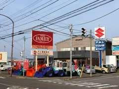 当社は県道229号線(旧国道8号線)の武生商校口交差点角地にございます♪お気軽にご来店・お問い合わせ下さい