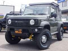 当店の試乗車です!ジムニー 660XC 4WD デュアルブレーキサポート付!★デイトナFD-X★リフトアップ