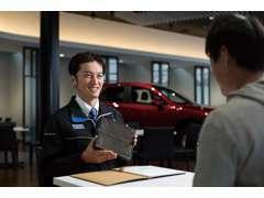 ご購入後もマツダ独自の資格をもったマツダ車のスペシャリストが定期的なメンテナンスをはじめ、カーライフをサポートいたします