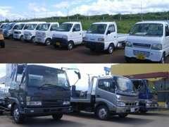 軽自動車~コンパクト・セダン・ミニバン・SUV・大潟トラック・積載車など幅広く展示中です。またNET以外の在庫もありますよ。
