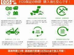 購入後も安心の「EGS保証」をご用意しております。詳細については店舗スタッフまでお問い合せ下さい♪