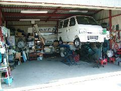 サービスピット!車検、修理、板金塗装もご相談下さい