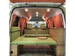 最近話題の軽キャンピングカーも展示しております!!お客様のお好みに仕上げることが可能です♪当店にお任せください!!