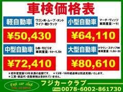 当社の車検は、早い!安い!安心!!当店ご購入のお車やお客様のご家族には特別割引が!!当店は販売後のお付合いを大事に致します