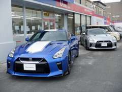 GT-Rの認定中古車フラッグシップショップは当店だけです!
