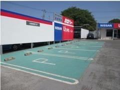 こちら、駐車場も完備しております。