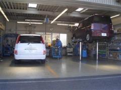 指定整備工場付きですので、購入後も安心です!