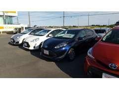 千葉県内でトヨタの中古車の在庫が一番ございます!!ぜひ弊社にお任せください!
