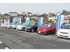 姉崎店は、中古車だけでなく、新車の展示在庫車もご用意しております。
