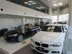 新車ショールームもございます。最新のラインナップを取り揃え、様々なご試乗車も準備してお待ちしております。