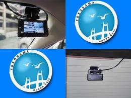 万が一の事故はもちろん快適で安全なドライブの必需品フロント、リアにドライブレコーダーが付いています