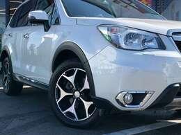 【サイドエクステリア】王道SUVのフォレスターらしい迫力のあるデザインになっております!