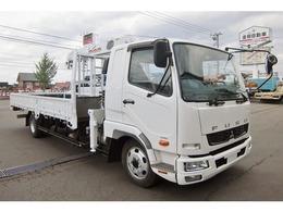 三菱ふそう ファイター クレーン付 SKG-FK61F ユニック4段