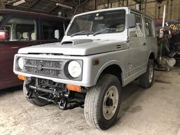 スズキ ジムニー 660 ワイルドウインド リミテッド 4WD 全塗装済 ツヤ消グレー