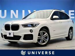 BMW X1 xドライブ 18d Mスポーツ 4WD ワンオーナー コンフォートP 純正HDDナビ