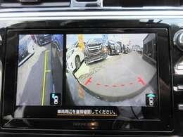 純正ダイヤトーンナビ♪ フロントカメラ&サイドカメラ&バックカメラ付き♪ 駐車も安心ですね♪