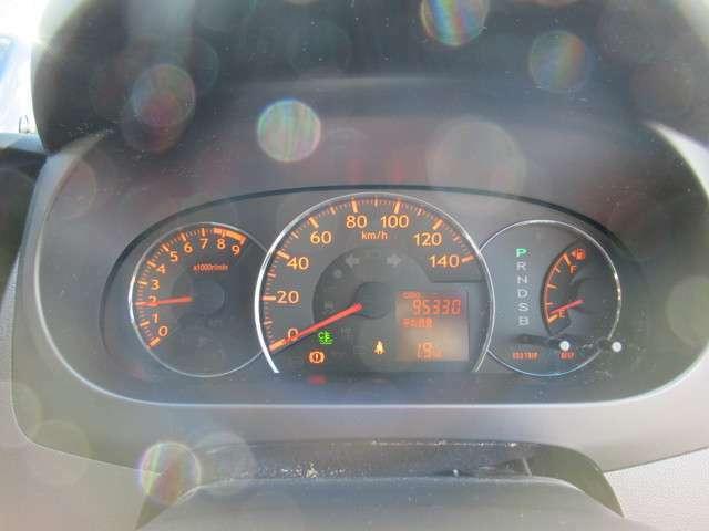 95330キロです!10万キロを超えても安心のタイミングチェーン式エンジンです!