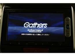 ギャザズナビ VXM-155VSi ワンセグTV付き Bluetooth SDカード対応 DVD再生できます