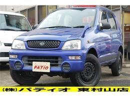 ダイハツ テリオスキッド 660 CL 4WD キーレス Wエアバック 記録簿