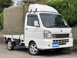 スズキ キャリイ 660 KCスペシャル 3方開 4WD 純正ラジオ キーレス 幌付き