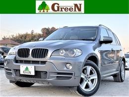 BMW X5 3.0si 4WD 7人乗りベージュ革パノラマSR後席モニター