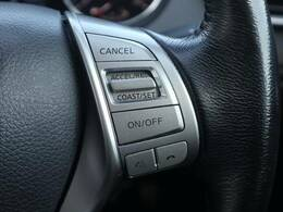 長距離運転の強い味方!クルーズコントロール装備です。