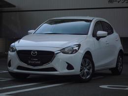 マツダ デミオ 1.3 13S レンタカー/禁煙/ホワイト/白/軽減ブレーキ