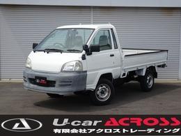トヨタ タウンエーストラック 1.8 シングルジャストロー DX ロング木製デッキ 三方開 4WD