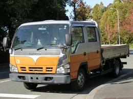 いすゞ エルフ 4.8 ダブルキャブ フラットロー ディーゼル