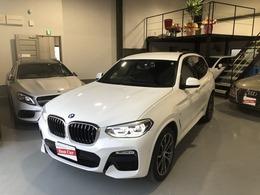 BMW X3 xドライブ20d Mスポーツ ディーゼルターボ 4WD 20インチ 黒革