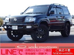 トヨタ ランドクルーザー100 4.7 VXリミテッド Gセレクション 4WD ボディリフト・Tベルト交換済み・1ナンバー