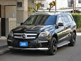 メルセデス・ベンツ GLクラス GL550 4マチック AMGエクスクルーシブパッケージ 4WD ナビTV Rセーフティ ブラウンレザー