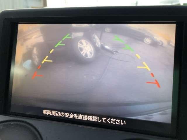ガイドモニター付きカラーバックカメラを装備しておりますので安全にバックする事が可能になっております♪バックが苦手な方でも安心して駐車する事が出来ますよ♪