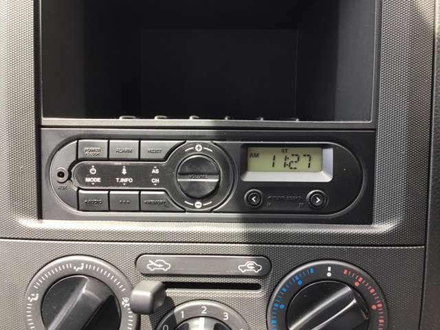 純正ラジオオーディオ!ナビへ付け替えたい方はご相談ください!