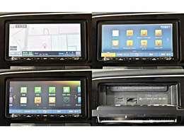 ワイドで明るい液晶画面、簡単な操作方法、多機能ナビゲーション。知らない街でも安心です。クラリオン「GCX775W」