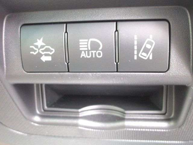 安全装備のセーフティーセンス装着車