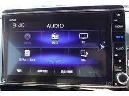 純正インターナビ&テレビ!もちろんDVD再生できて地デジもフルセグです!CD録音機能もあり。