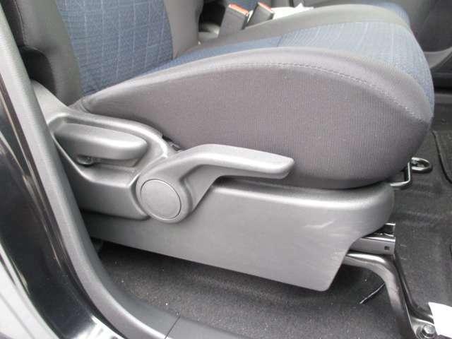 運転席の高さ調節も出来るので小柄な方でも大丈夫!