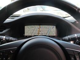 12.3インチ液晶メーター!視認性が良く各種情報を表示、確認できます。ナビ画面を表示させれば視線の動きを少なくし安全にも寄与。ダイナミックモードでスポーティな演出もあります!