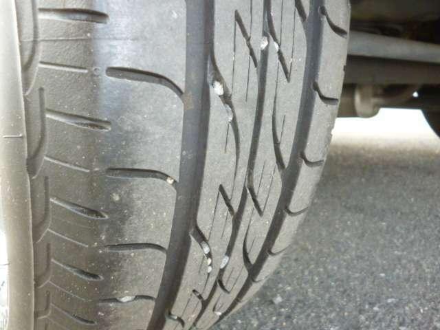タイヤの溝も随分あります