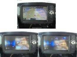 スマホ連携ナビ装着車☆彡ワンセグTVやBluetooth機能も便利♪(CDプレーヤー機能はついておりません)
