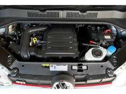 1L直列3気筒DOHC12バルブインタークーラーターボエンジンは116ps/20.4kg・mを発生!(カタログ値)