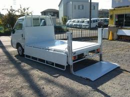 三菱 デリカトラック 1.8 DX 垂直パワーゲート 荷台鉄板 3方開き 5MT