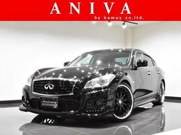 日産 フーガ 2.5 250GT タイプP 黒革 新品車高調 新品21AW 新品フルエアロ