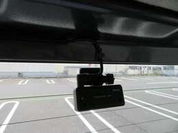 コムテック製前後ドライブレコーダーです。高画質370万画素STARVIS 搭載、前後2カメラにより走行時、駐車監視中も前方/後方を録画。