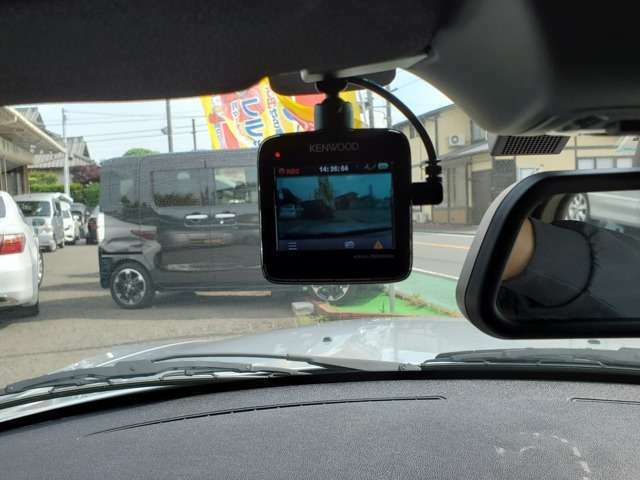 ドライブレコーダーも装備しておりますので、万が一の際にも安心です!