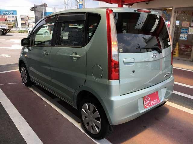 当店の車は全て法定点検を受けた後、12ヶ月間の保証を付けて納車致します。